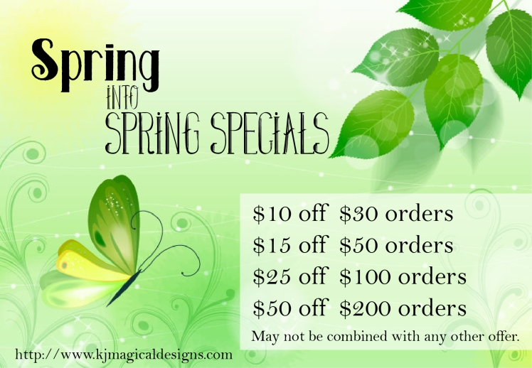 Spring Sale Banner Magical Designs
