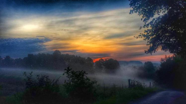 Sunrise at Cleveland, Blount County, Alabama July 14, 2015