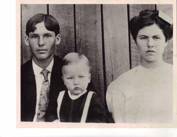 Jim, Preston, Della Beam