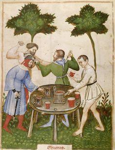 drinking-brawl